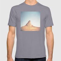 Monument Valley Mens Fitted Tee Slate SMALL