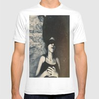 Fugue Mens Fitted Tee White SMALL