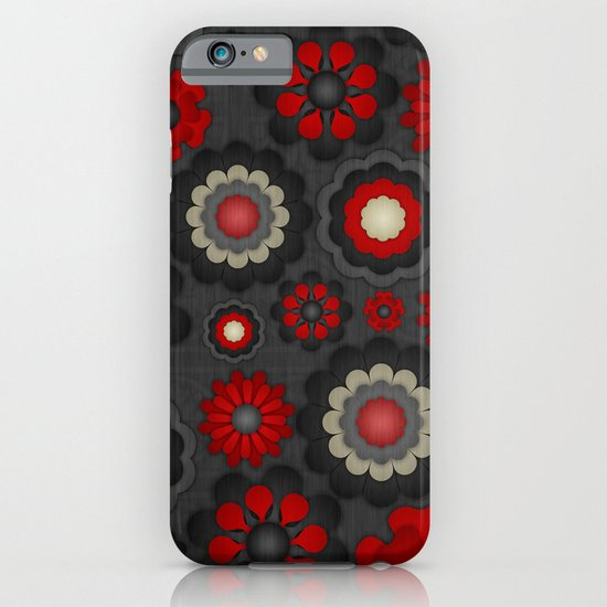 Dark Romance Floral iPhone & iPod Case