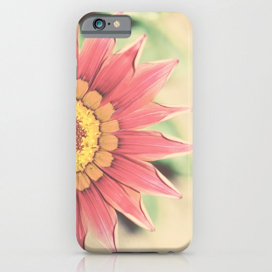 Red flower iPhone & iPod Case