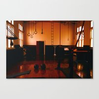 Gym Canvas Print