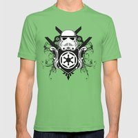 Storm Trooper Coat Of Ar… Mens Fitted Tee Grass SMALL
