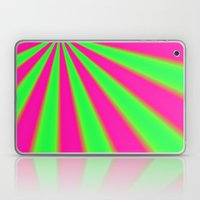 Pink and Green fractal Laptop & iPad Skin