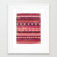 Native Spirit (alternate… Framed Art Print