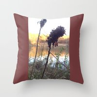 Throw Pillow featuring Plants by Royal Lake by Rogue Crafter