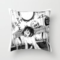 Crippled Throw Pillow