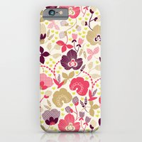 iPhone & iPod Case featuring Summer Floral by Becca Pike