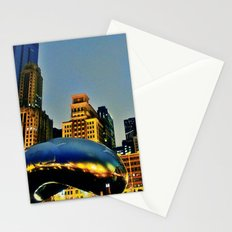 Chicago Bean Stationery Cards