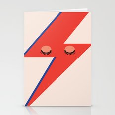 Music Minimals - David B… Stationery Cards