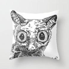 Bush Baby Throw Pillow