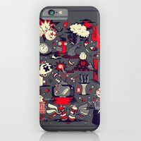 iPhone & iPod Case featuring From The Womb To The Tomb by Omega Man 5000
