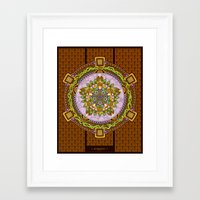 Framed Art Print featuring Metamorphosis by Colin Spence Design