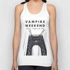 Vampire Weekend / George Washington Bridge Unisex Tank Top