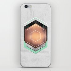 Hexagon Abstract #1 iPhone & iPod Skin