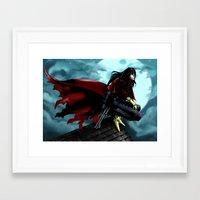 FFVII - Vincent Framed Art Print