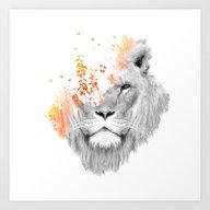 If I Roar (The King Lion… Art Print