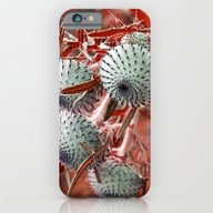 THISTLE In RED iPhone 6 Slim Case