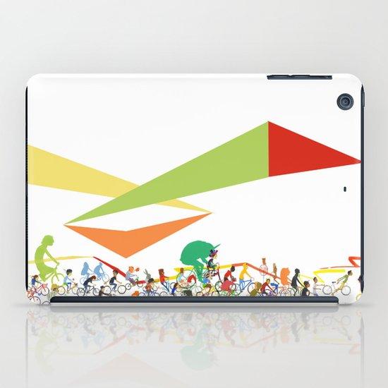 Bike Parade Print iPad Case