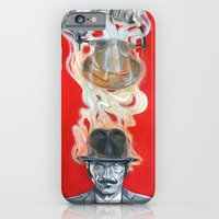 iPhone & iPod Case featuring Monkey Hatter by Oliver Dominguez