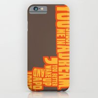 iPhone & iPod Case featuring Shoot me in a dream by Bart Verbiest