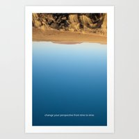 Change Your Perspective … Art Print