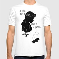 A Thing Must Be Loved Mens Fitted Tee White SMALL