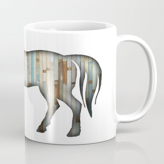 Wooden horse Mug