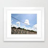 Smile!! Framed Art Print