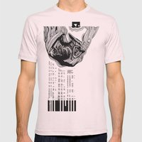 scientist Mens Fitted Tee Light Pink SMALL