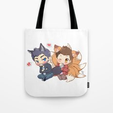 The Fox 'n the Wolf Tote Bag