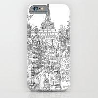 Paris! B&W iPhone 6 Slim Case
