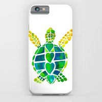iPhone & iPod Case featuring Turtle Love by Catherine Holcombe