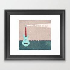 Let Music Light The Way Framed Art Print
