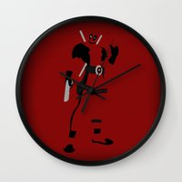 Merc With A Mouth (Deadp… Wall Clock