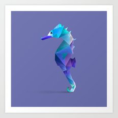 Seahorse. Art Print