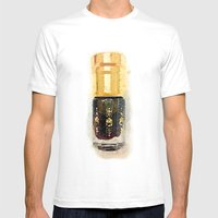 Perfume Mens Fitted Tee White SMALL
