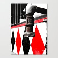 Canvas Print featuring Urban water faucet by Vorona Photography