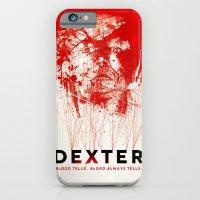 iPhone & iPod Case featuring DEXTER by Michael Scott Murphy