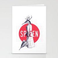 Spleen Stationery Cards