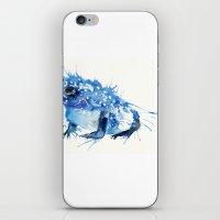 I Feel Blue iPhone & iPod Skin