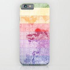 Rainbow World Map iPhone 6 Slim Case
