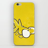Bubble Eye Goldfish iPhone & iPod Skin