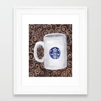 Coffee Time I Framed Art Print