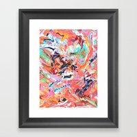 take orders Framed Art Print