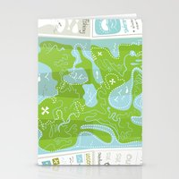 Totally Inaccurate Map O… Stationery Cards