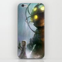 Mr Bubbles strolling  iPhone & iPod Skin