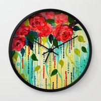 ROSE RAGE Stunning Summe… Wall Clock