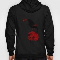 Bird and Skull Hoody