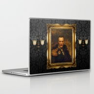 Laptop & iPad Skin featuring Christopher Walken - Rep… by Replaceface