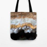 Travertine mineral Tote Bag